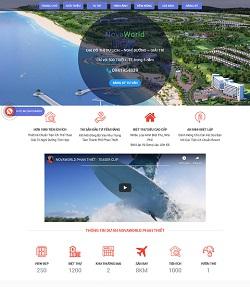 mẫu web bất động sản đẹp